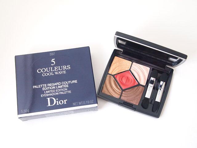 designer fashion a40ec f95a8 Dior 2018サマー限定 サンク 597 ヒート アップ☆透明感と軽やか ...